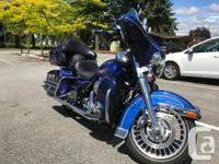 Make Harley Davidson Model Electra Glide Year 2009 kms