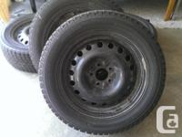 I have a set of 4 Yokohama Ice Guard iG20 Tires on 17