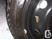 Michelin X-Ice Xi3 Tire and 17 inch Steel Wheel Taken