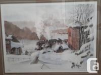 """Winter of 1947"" by Wentworth Folkins. Limited Edition"