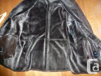 I have excellent winter Lather Sheepskin coat for sale,