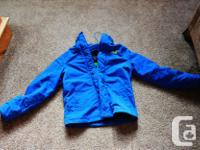 This jacket is VERY gently utilized, possibly put on 5