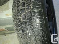 4 X Winter snow tires WINTER KING P265/70R14 with 14