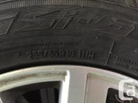 Up for sale are my set of 4 stock rims from a 2012