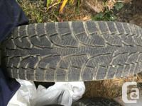 4 pretty much brand new winter tires hankook rw11 ipike