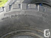 Set of 4 winter tires. Good for at least 2 more