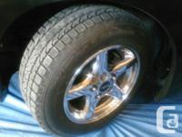 I have 4 BF GOODRICH winter tires for sale on WS6