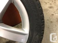 Set of 4 winter tires that came off a 2015 Audi A3.