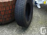 Hi all, selling my winter tires because i bought a new
