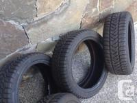 Size: 205/45r17 Used only for one mild winter season in