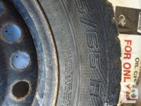 Great quality winter tires that come with rims. They