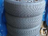 Selling 4 winter tires on 16 inch rims - Good Year,