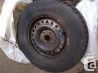 Winter Tires, set of 4 on winter rims. Asking $500