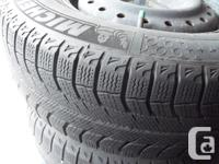 These Winter Tires were used for only 2 winters on a