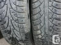 These tires have about 15,000km on them. Tires are on