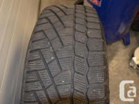 I have 4 Continental winter tires / with Rims and