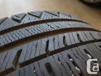 4 Michelin Pilot Alpine tires 225/50R/17 on alloy