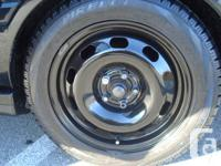 Selling my 5x100 15 Inch Winter Tires  tires are