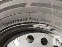 Yokohama iceGuard ig51v winter tires size 215/70R16