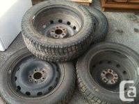 4 x winter tires 16s 205/55
