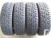 Fresh Hankook winter months tires dimension 205/ 70R15.