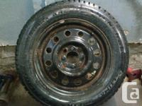 4 Winter tires, Altimax Arctic General. they come with