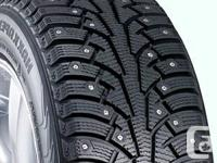 WinterForce studded tires, for extreme snow & ice