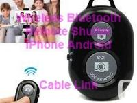 Wireless Bluetooth Remote Camera Shutter for IPhone and