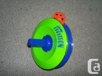 Start the wheel anywhere on the track. Tilt Orbitron --