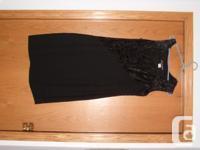 dress by Bianca Nygard ,no stains black dress , use