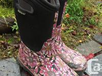 Bogs boots are waterproof, durable and unbelievably