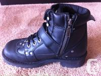 Milwaukee Women's Motorcycle Boots MB233 Road Captain