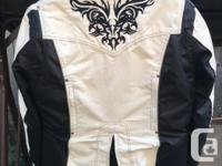 NexGen winter white and black with zip out liner and