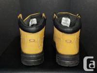 Dakota steel toed work boots Tan Minor scuffing,