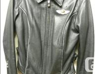 Women's XS 100 Year Anniversary Harley Davidson leather