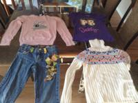 Gals size 8 fall garments !! Superb condition !!