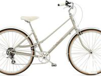 available - grey ladies's electra ticino 7d.  7-speed