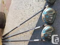 3,5,7,9 woods. Adams Speed line set with headcovers.
