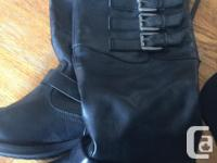 I have 2 pair of boots for sale. First pair is size 8W