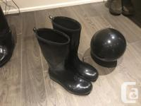 Various women's size 8 brand boots like new condition.