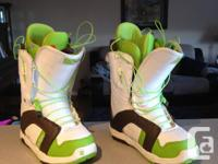 Looking to sell my woman's burton snowboarding boots,