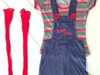 BRAND NEW Women's Chucky Halloween Costume $45 OBO  �