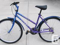 Giant Rincón Bicycle for Sale. Chromoly tubing with a