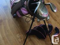 Idea- women's right hand, 14 piece golf set .