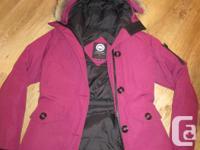 Authentic Canada Goose Montebello Coat Size Tiny.