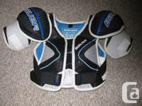 Bauer One 35 shoulder pads.  Size Medium.  Used twice.