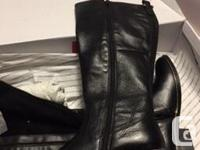 2 pairs of size 7 women�s leather Aldo boots, brand