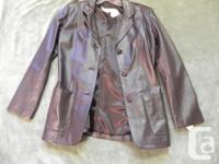 Brand new leather suit jacket size 5. Price tags still