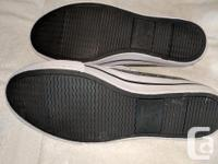 $25 gets you both pairs Air walk: Grey, size 8 American