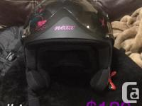 #1 Nexx X60 Queen Helmet XL $120 #2 Shift Gloves XS